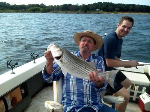 Lake texoma fishing report a fall feeding frenzy north for Lake texoma fishing report