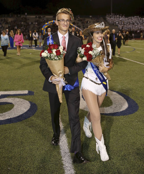 Royalty crowned at McKinney High School 2016 Homecoming