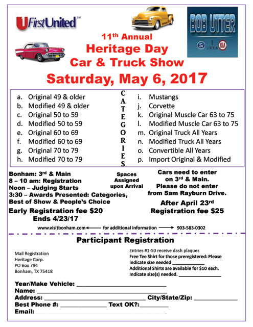 Local Car Show Events